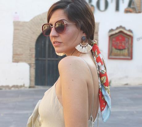 combinar vestido midi beige outfit ideas blog moda