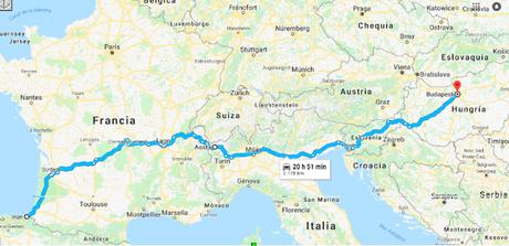 Viajar a Hungría en coche desde España (II)