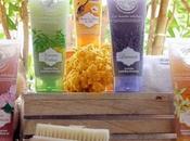 geles ducha exfoliantes JEANNE PROVENCE preparan piel para verano mantienen bronceado durante tiempo