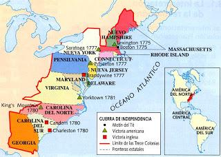 La guerra entre Inglaterra y América, T. C. Smith, Parte I