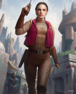 Padme Amidala en la novela de Star Wars Thrawn: Alliances