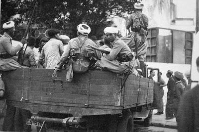 Las manadas fascistas. Lo que ocurría en los pueblos cuando entraban los fascistas acompañados de las fuerzas mercenarias marroquíes