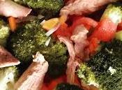 Ensalada brocoli caballa
