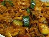 Cómo hacer noodles arroz verduras estilo oriental (fideos arroz)