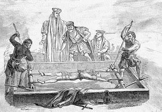 Waterboarding. Tortura medieval