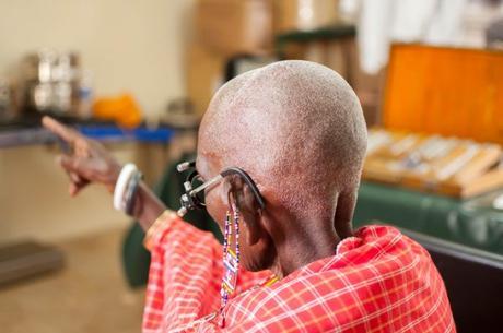 Campaña de cirugías de cataratas en Kenia