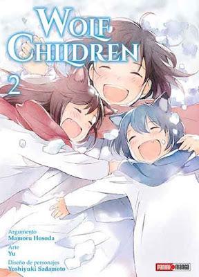 Reseña de manga: Wolf Children (tomo 2)