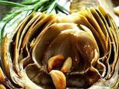 Alcachofas horno mantequilla