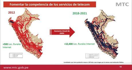 Cobertura 4G crece 407% el 2017 pese a trabas burocráticas