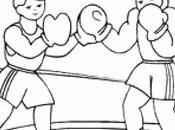 Luxury Boxing Coloring Pages