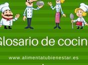 Glosario cocina