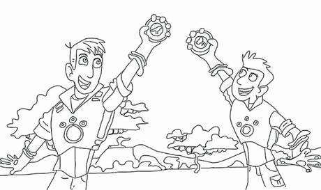 Fresh Wild Kratts Coloring Pictures