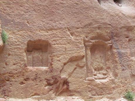 El desfiladero de Petra o Bab as-Sīq. Jordania