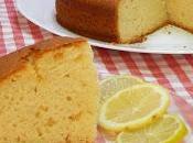 Receta bizcocho lima limón ligero esponjoso