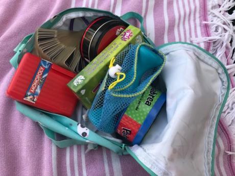 Nuestra mochila de juegos