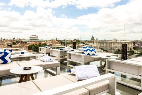 Lo más nuevo de las más bonitas azoteas de hoteles de Madrid