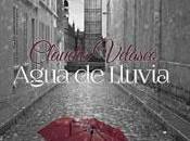 Reseña libro: Agua lluvia