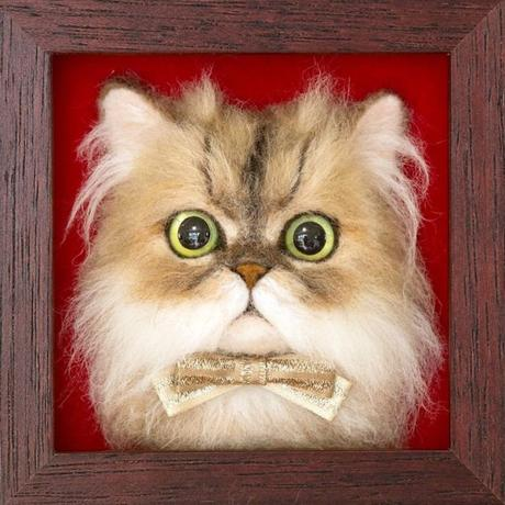 Un artista japones hace retratos realistas en 3d de gatos y el resultado es asombroso.