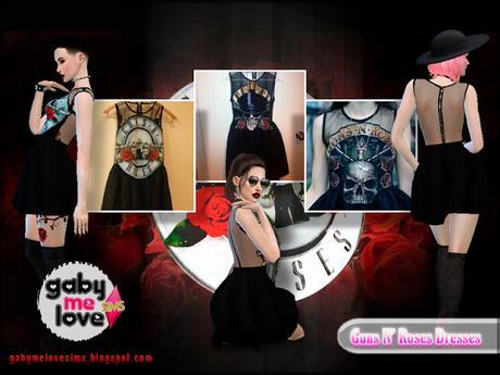 Guns N' Roses Dresses - Real dresses. God Save The Frock inspired