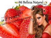 Mascarilla fresas para cabello
