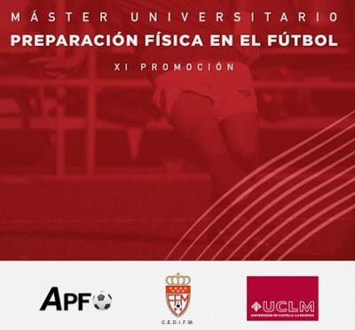 XI Máster Universitario Preparación Física en Fútbol