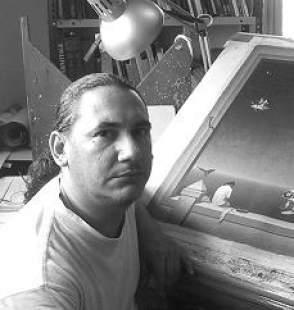 Rubén Alpízar nos visita en Galería de Arte Artízar