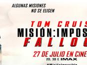 MISIÓN IMPOSIBLE FALLOUT [CINE] Algunas misiones eligen.
