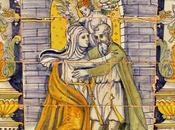 escenas vida Santa Azulejería antigua Talavera