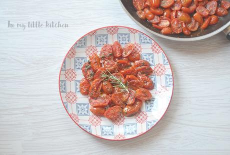Tomates fritos con ajo- Cooking the chef (especial verano)- Yotam Ottolengui
