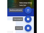 Cómo subir publicaciones Google Classroom