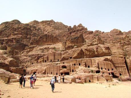 Ruinas de Petra. Jordania