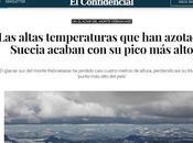 Efectos altas temperaturas está sufriendo norte europa