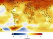 Mapa variación temperatura global última década