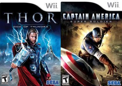 [Wii] Capitán América y Thor se presentan en video