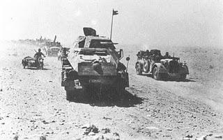 El Afrika Korps conquista Bengasi y avanza hacia El Mechili - 03/04/1941.