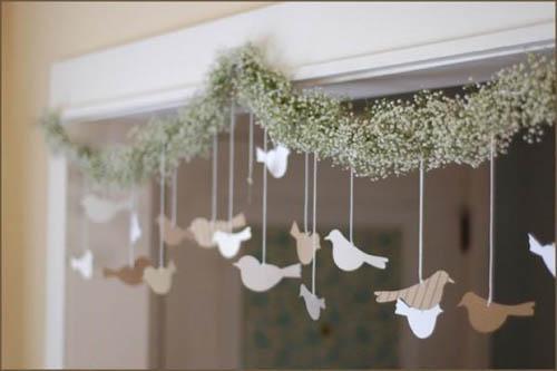 Hacer una guirnalda para decoracin Foro Manualidades para bodas