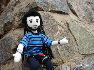 ESCALADOR mini-yo 45cm (muñeco articulado)