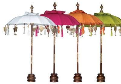 Sombrillas decorativas para decorar exteriores paperblog for Sombrillas de jardin
