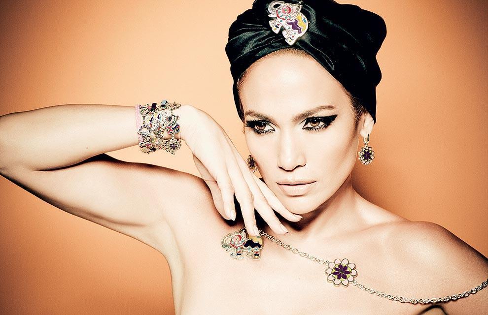 Jennifer López, como imagen de Tous.