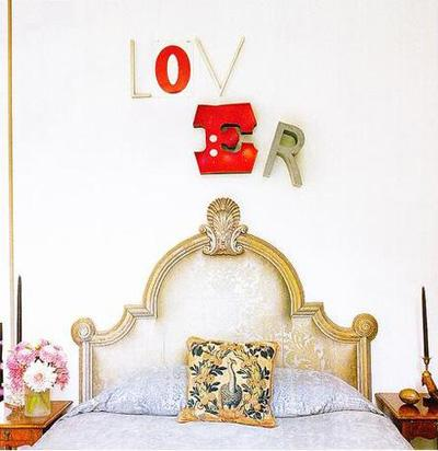 DECORAR PAREDES CON LETRAS