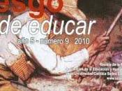 Revista RIESGO EDUCAR, NÚMERO 2010. EXPERIENCIAS AÑOS