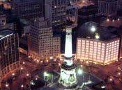 Monument Circle Competition. Indianapolis.