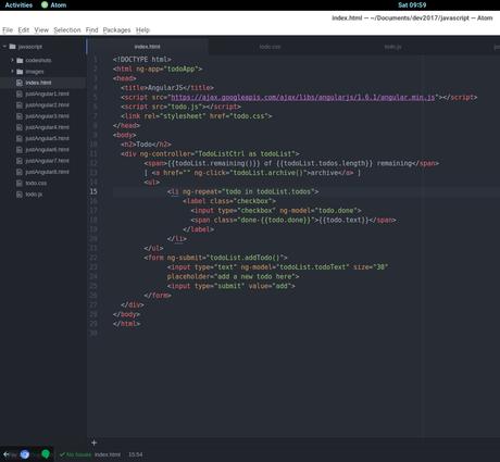 Extensiones para Agregar Soporte para Auto Completar código Angular JS en tu editor de código