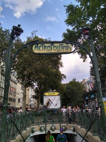 El Metro'politain' de París (parte 1)
