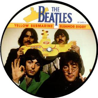 PICTURE DISC DEL 'YELLOW SUBMARINE' ( 1986 / 2018 ) - 50 AÑOS