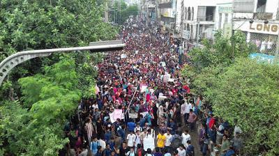 Bangladesh: Jóvenes protestan por la seguridad y la justicia