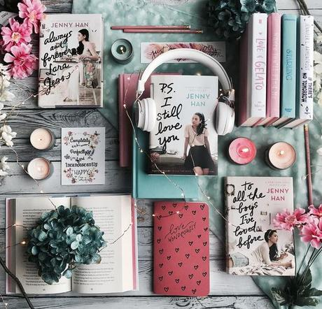 @darkfaerietales_ on Instagram To All The Boys I loved Before series by Jenny Han #1 To All The Boys I've Loved Before #2 P.S. I still Love You #3 Always and Forever Lara Jean * #bookstagram #YAromance #bibliophile #bookphotography