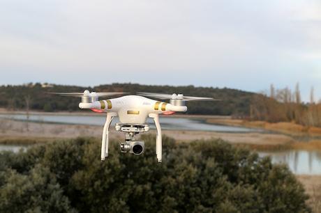 Fotografía aérea de paisaje