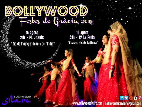 Bollywood en las fiestas de Gracia (Barcelona)