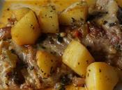 Caldereta cordero patatas baja temperatura Slow cooker Crockpot